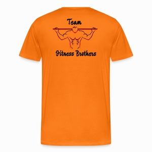 T-shirt Team Fitness Brothers - Premium-T-shirt herr
