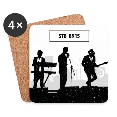 Storetsh Talker Band Fan-Coaster - Untersetzer (4er-Set)