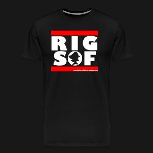 RIG-SOF_White - Männer Premium T-Shirt