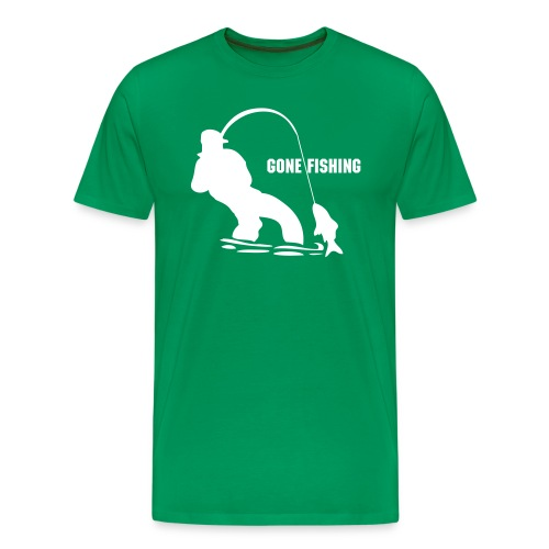 Gone Fishing - Men's Premium T-Shirt
