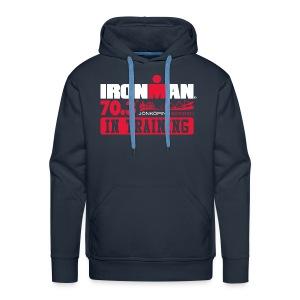 IRONMAN 70.3 Jonkoping In Training Men's Premium Hoodie - Men's Premium Hoodie