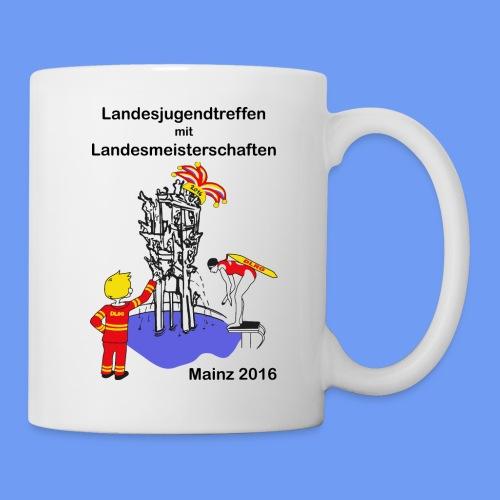 Tasse mit Logo und Motto - Tasse