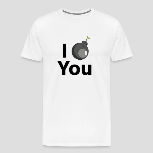 I BOMB You Shirt (Premium Quali/Stretch Fit) - Männer Premium T-Shirt