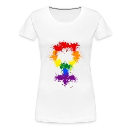 Rainbow XX - T-shirt Premium Femme