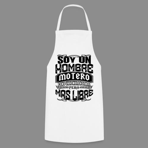 Soy un hombre motero - Delantal de cocina