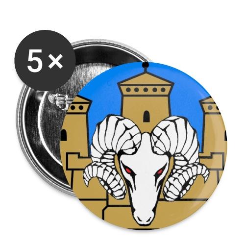pienempi rintamerkki - Rintamerkit pienet 25 mm
