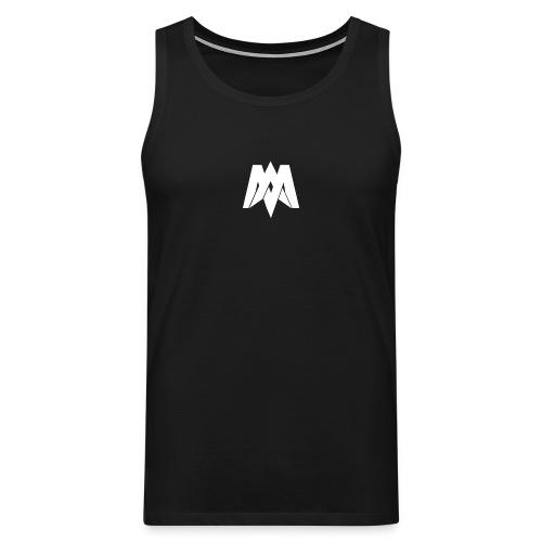 Mantra Fitness Tank Top (Black) - Men's Premium Tank Top