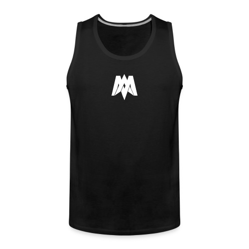 Mantra Fitness Tank Top (Black) - Men's Premium Tank Top