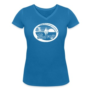 TSF Girlies V-Tee - Women's Organic V-Neck T-Shirt by Stanley & Stella
