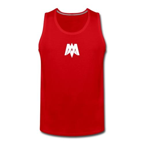 Mantra Fitness Tank Top (Red) - Men's Premium Tank Top