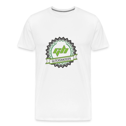T-Shirt Premium GlitchsHacksFR - T-shirt Premium Homme