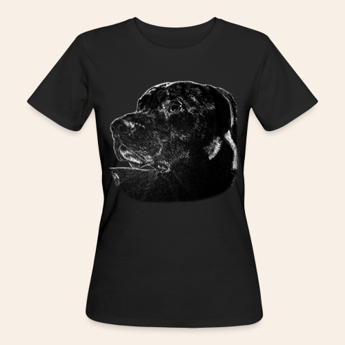Frauen Bio-T-Shirt Hund - Frauen Bio-T-Shirt