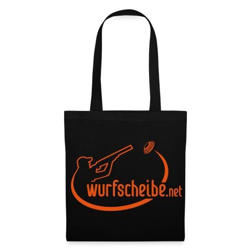 Stoffbeutel Logo komplett - wurfscheibe.net - Stoffbeutel
