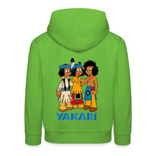 Yakari et ses amis Pull à Capuche Enfant - Kinder Premium Hoodie