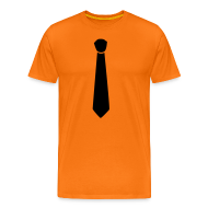 T-shirts ~ Mannen Premium T-shirt ~ Koningsdag T-shirt met stropdas