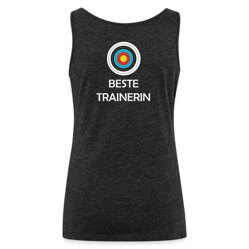 Frauen Premium Tank Top - Beste Trainerin - Frauen Premium Tank Top