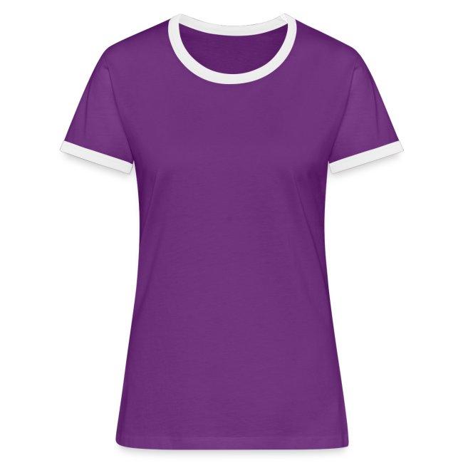Frauen Kontrast-T-Shirt - Beste Trainerin