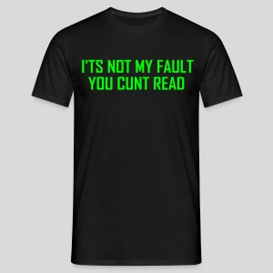 Cunt read - T-shirt herr