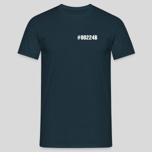 #00224B (Navy) - T-shirt herr