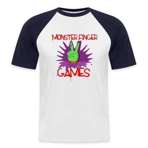 Monster Finger Baseball Top - Men's Baseball T-Shirt