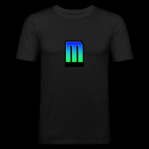 Mazer Männer Slim Fit T-Shirt - Männer Slim Fit T-Shirt