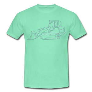 Bulldozer (Planierraube) - Männer T-Shirt