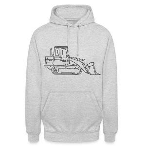 Bulldozer (Planierraube) - Unisex Hoodie