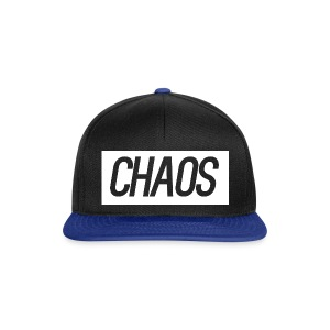 CHAOS Black and Blue Snap Back Cap - Snapback Cap