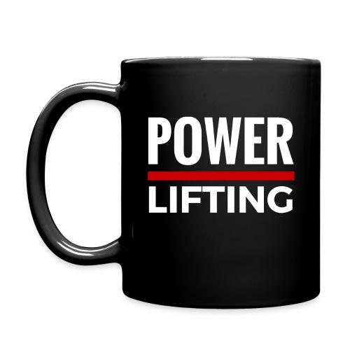 Powerlifting Cup - Tasse einfarbig