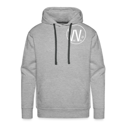 Men`s Grey Hoodie  - Men's Premium Hoodie