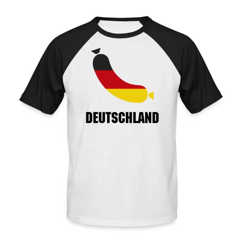 Deutschland sausage - Men's Baseball T-Shirt