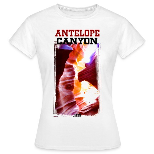 Antelope Canyon - Maglietta da donna
