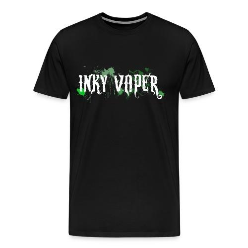 Men's Inky Vaper T-Shirt - Men's Premium T-Shirt