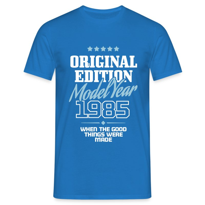 original edition model year 1985 t shirt spreadshirt. Black Bedroom Furniture Sets. Home Design Ideas
