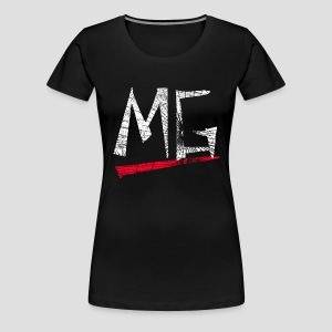 MG Glas Logo Girly-Shirt - Frauen Premium T-Shirt