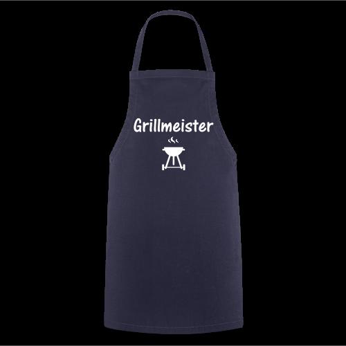 Grillmeister Schürze blau - Kochschürze