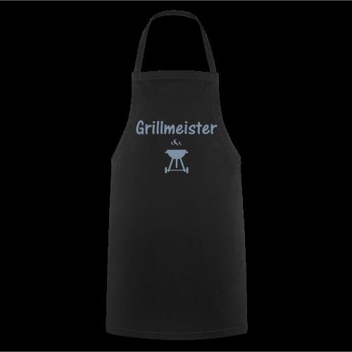 Schürze Grillmeister schwarz - Kochschürze