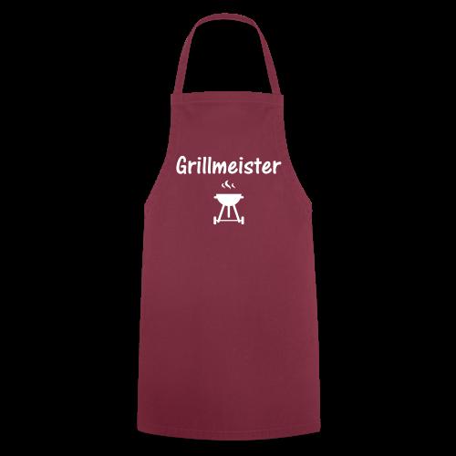 Schürze Grillmeister rot - Kochschürze