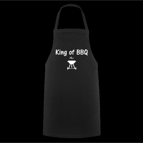 Schürze King of BBQ schwarz - Kochschürze
