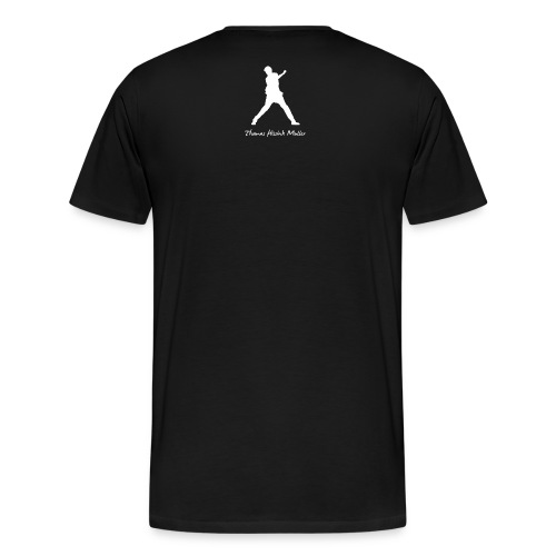 Thomas Hissink Muller White Logo Exclusive - Men - Mannen Premium T-shirt