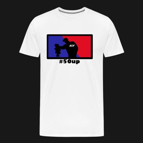 Black Red´n´Blue #50up - Männer Premium T-Shirt