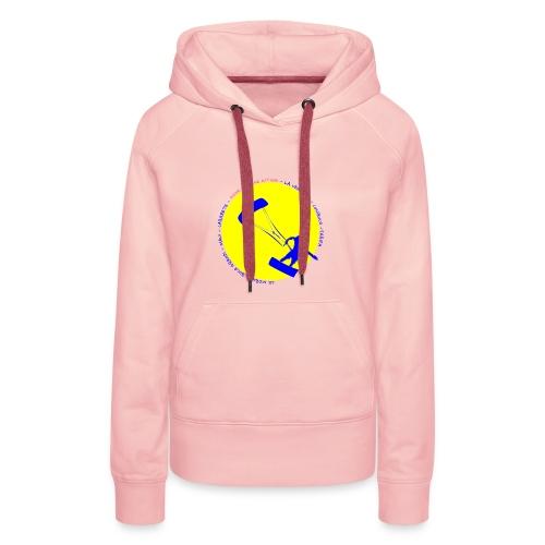 Hoodie-rosa-kite - Women's Premium Hoodie