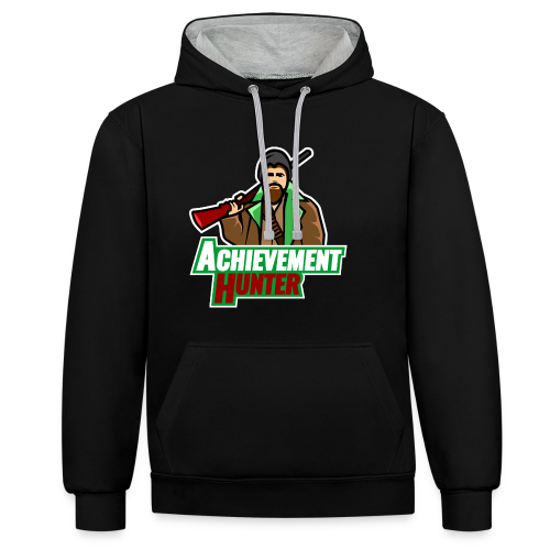 Contrast Colour Hoodie - achievement