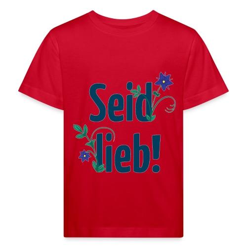Test Kinder-Shirt - Kinder Bio-T-Shirt