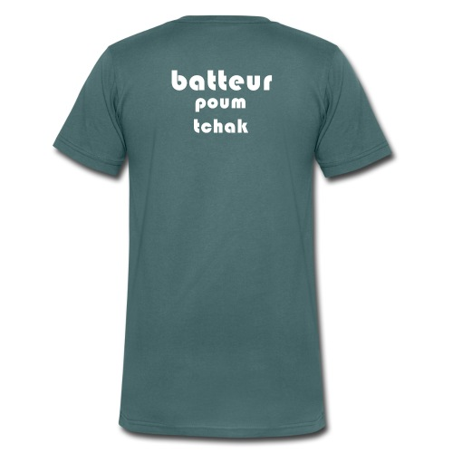 Batteur - T-shirt bio col V Stanley & Stella Homme