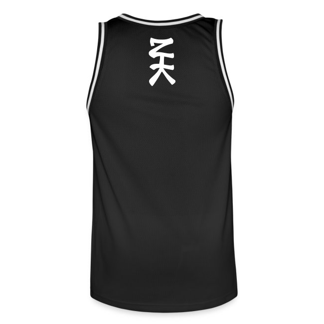 Morphing ZTK Spray-Extinguisher Basketball Jersey
