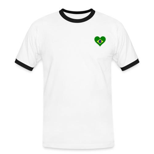 Brasil Feliz da Vida! - Maglietta Contrast da uomo