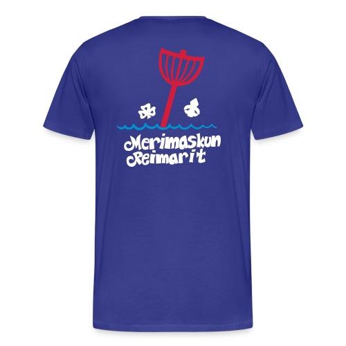 Miesten t-paita omalla nimellä - Miesten premium t-paita
