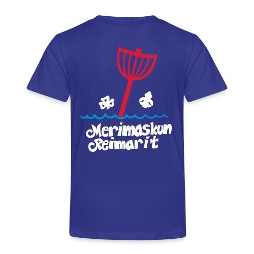 Lasten t-paita omalla nimellä - Lasten premium t-paita