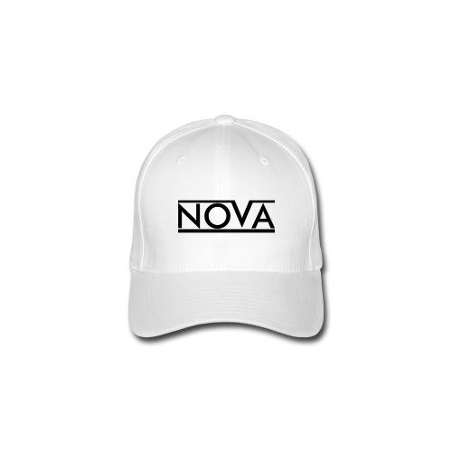 White Nova Flexfit Baseball Cap - Flexfit Baseball Cap